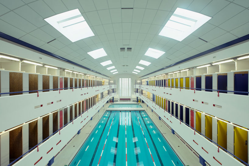 the architecture of empty swimming pools by franck bohbot
