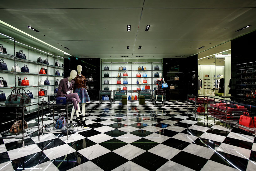 prada opens its first store in nanning china