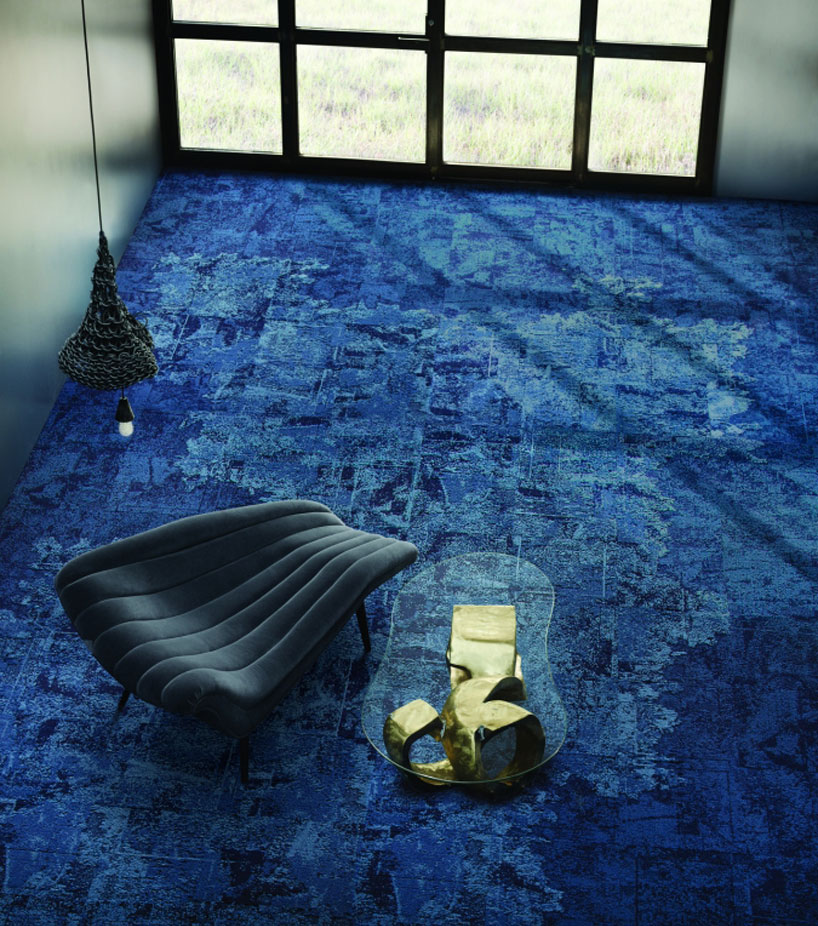 INTERFACE Net Effect carpet tile collection reflects