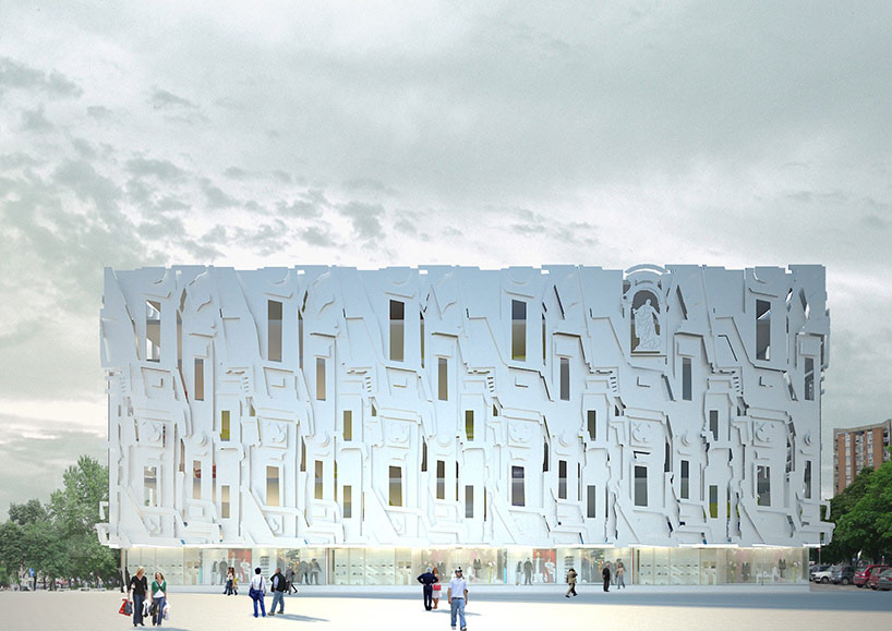 PPAG  milan mijalkovic 3D patterned multistorey car park