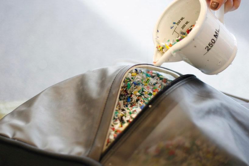 how to make bean bag chair wheelchair stair lift kacama recycle bottle caps into the p.p. capsule beanbag