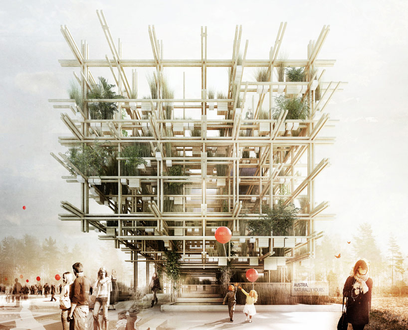 milan expo 2015 austrian pavilion naturally yours 1st runner up