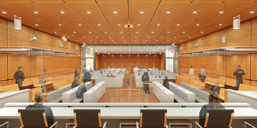 renzo piano to unify judicial system with paris courthouse