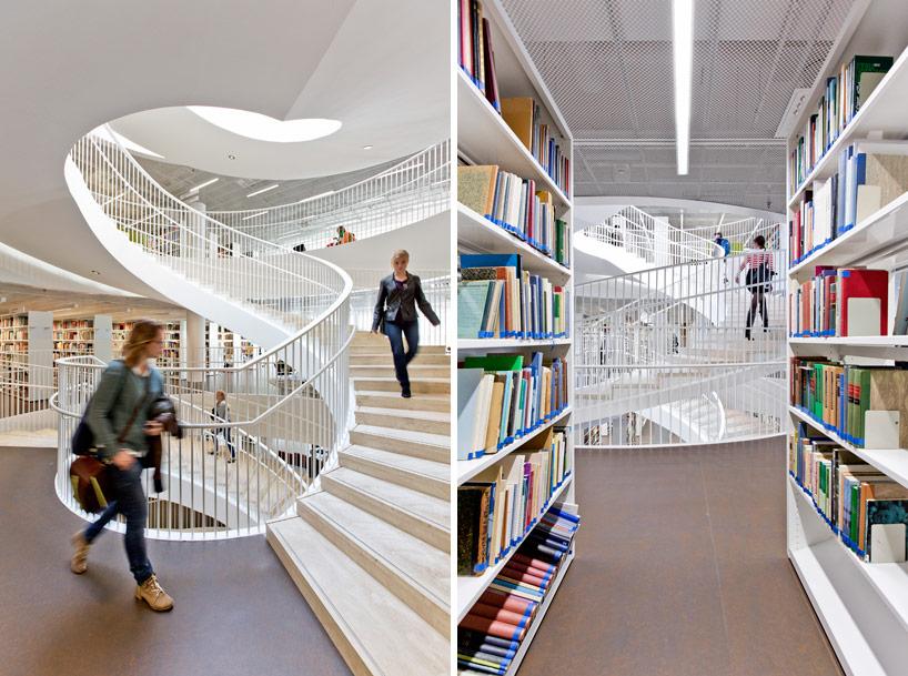 kaisa house main library at helsinki university by