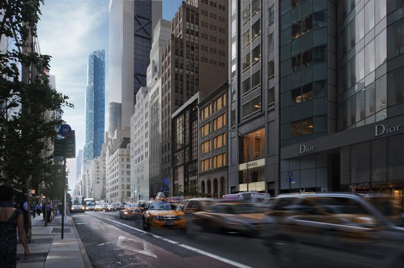 one57 residential tower by christian de portzamparc tops out