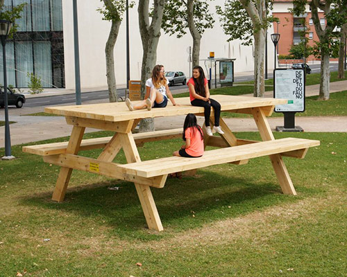 Benedetto Bufalino Plays With The Perception Of A Picnic Table