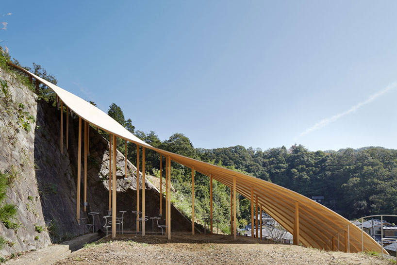 ryue nishizawa  nendo collaborate on small pavilion in kyoto