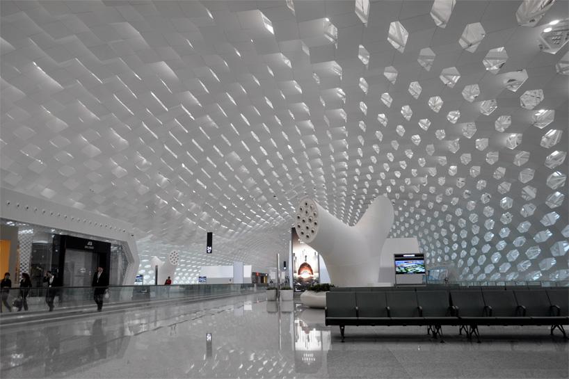 studio fuksas expands shenzhen baoan international airport