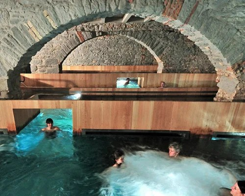 hurlimann brewery in zurich is renovated into thermal bath  spa