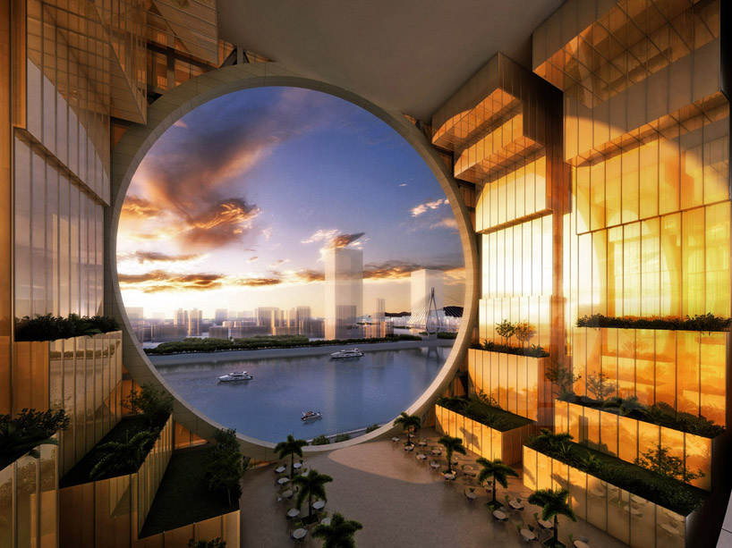 AM project rounds out double disk guangzhou circle mansion