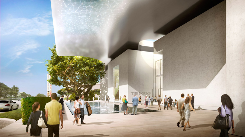 foster  partners develop expansion of norton museum of art