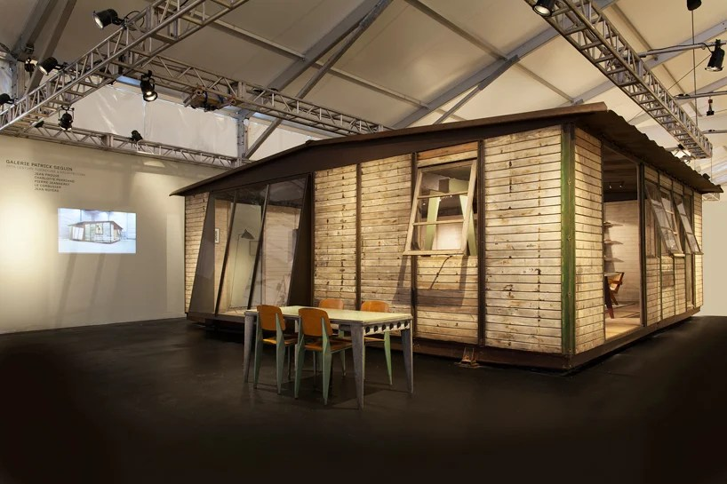 prefab maison demontable 8x8 by jean prouve at design miami