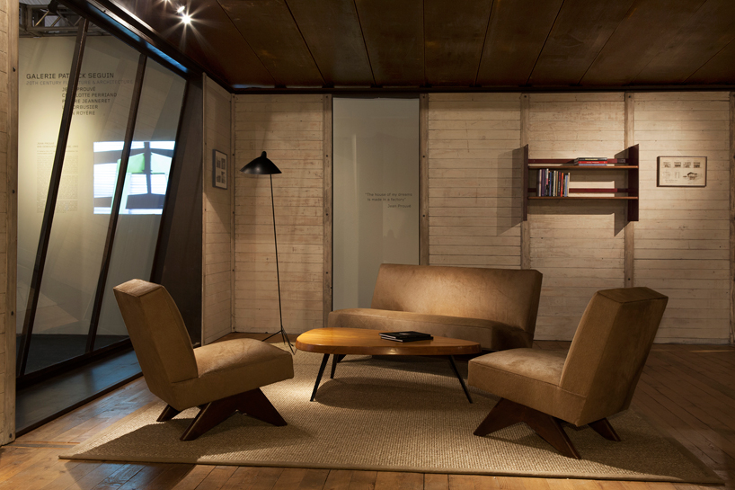 century furniture sofa quality hide a bed sofas prefab maison demontable 8x8 by jean prouve at design miami