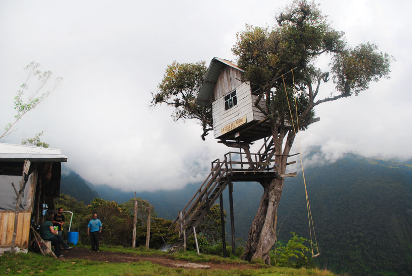 egg shaped swing chair beige dining chairs at the end of world soars over tungurahua volcano