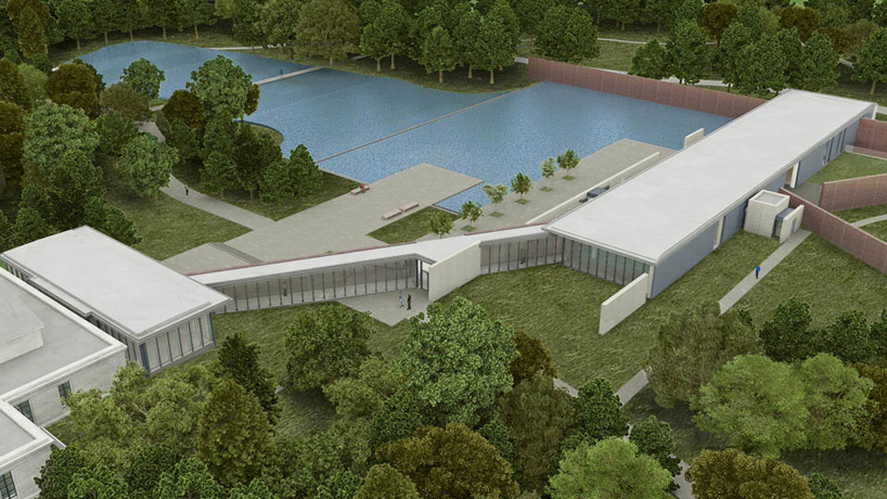 tadao ando connects the clark institute with new visitor