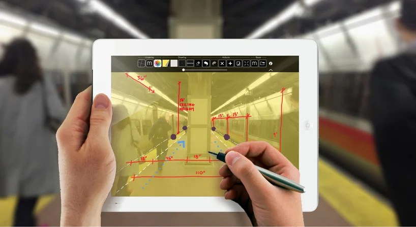 trace 20 iPad app for architects by morpholio project