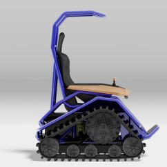 Wheelchair Mario Outdoor Folding Chair Ziesel Off-road Conquers All Weather And Terrain