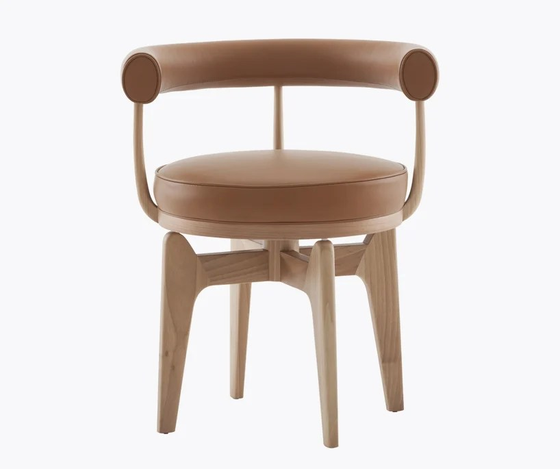 charlotte perriand wooden prototype reeditions by cassina