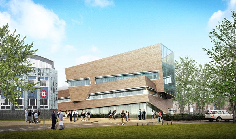 Daniel Libeskind Unveils Plans For Durham Universitys New