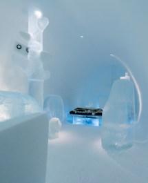 Ice Hotel Deluxe Suite