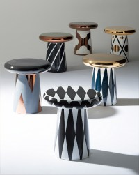 jaime hayon designs ceramic table and sculptures for bosa