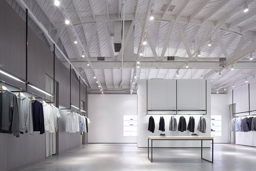 nendo emphasizes circulation in LA shops for theory