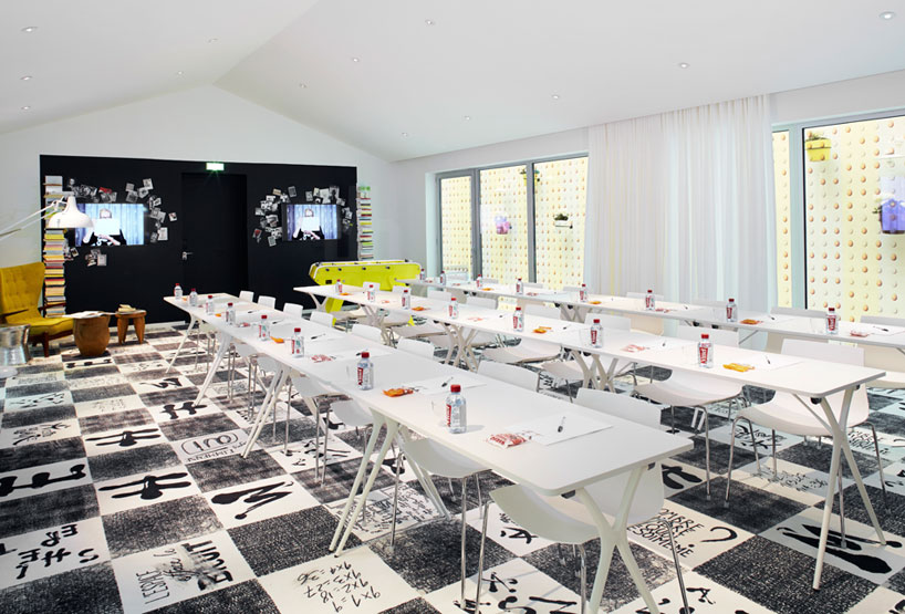 Philippe Starck Designs MAMA Shelter Interior In Bordeaux
