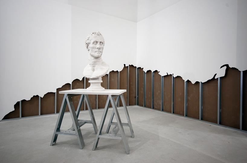scott carter deconstructs walls to build furniture