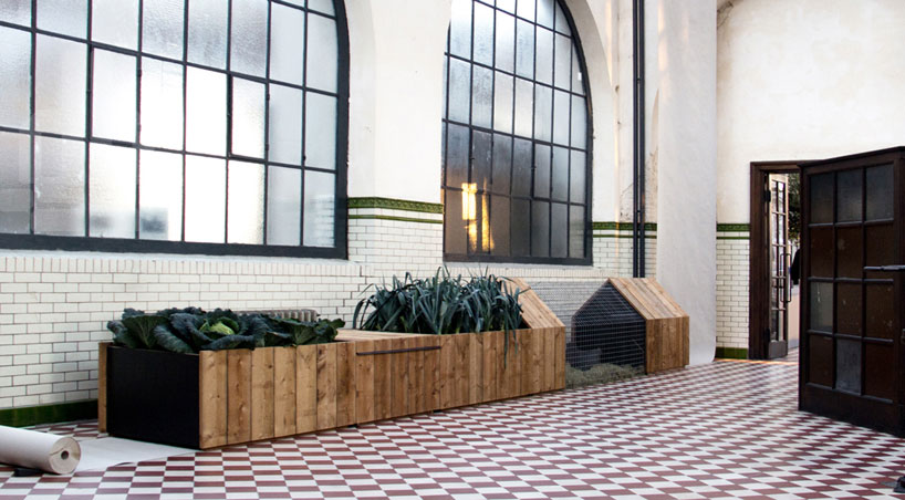 studio segers enables city farming with daily needs unit
