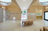 NEXT architects creates a sensory daycare that mimics the city