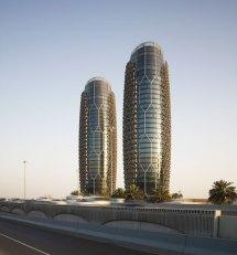 Aedas Clads Al Bahr Towers With Dynamic Shading Device