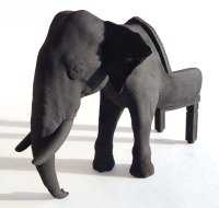 maximo riera produces 3D printed animal chair miniatures