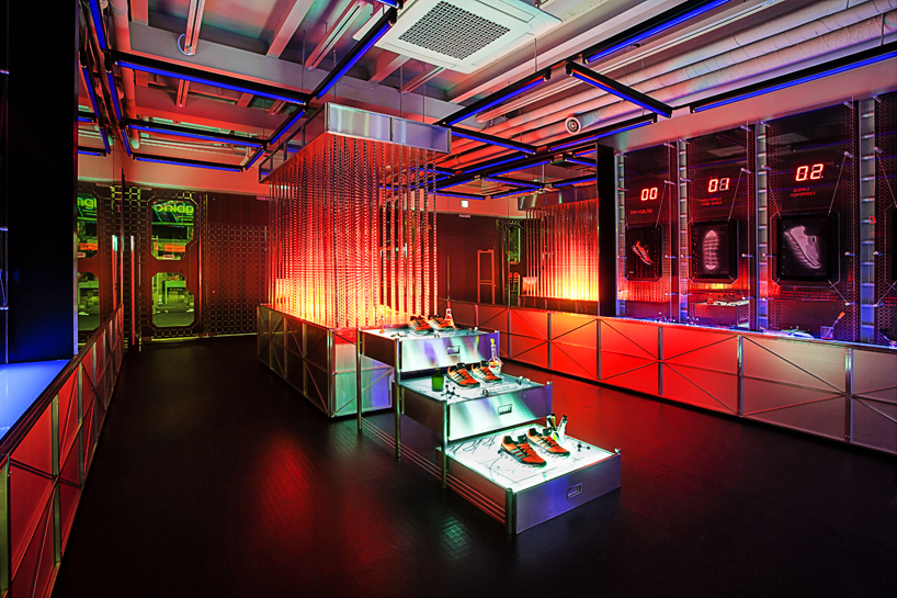 adidas springblade popup innovation lab in seoul by