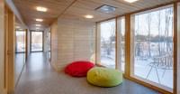 haekli architects crafts omenapuisto daycare center in ...