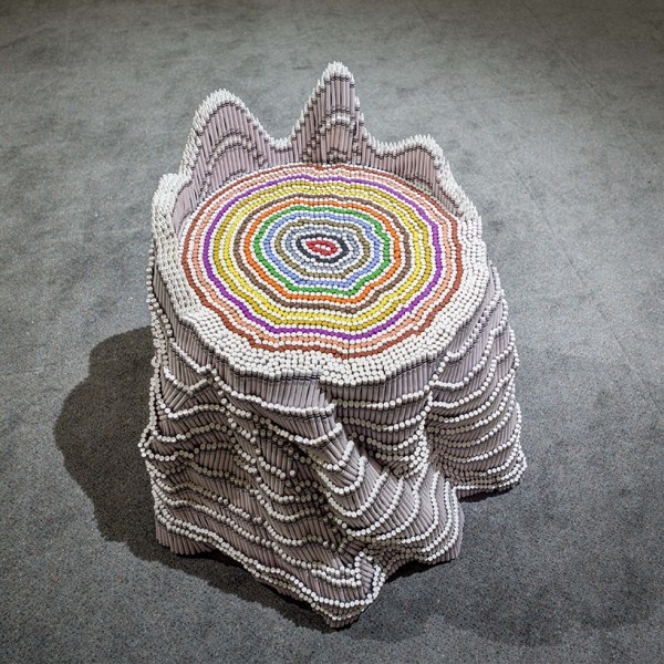 Herb Williams Sculpts Technicolor Animals Thousands