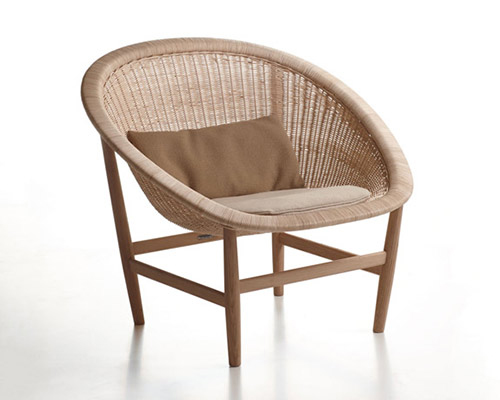 kettal reinvents the archetypal nordic basket chair