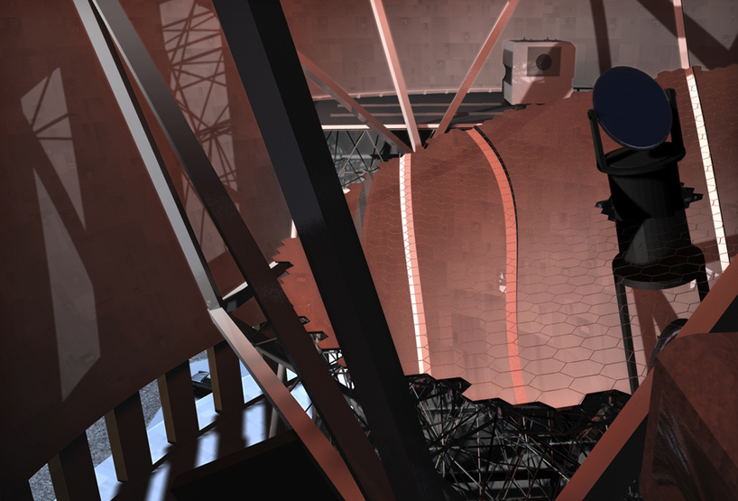 world's largest telescope TMT designboom