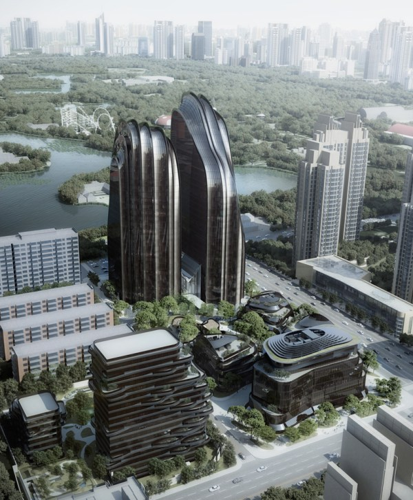Chaoyang Park Plaza Mad Architects Breaks Ground In Beijing
