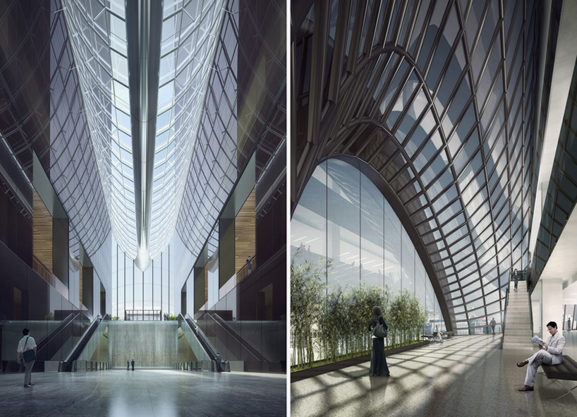 chaoyang park plaza by MAD architects breaks ground in beijing