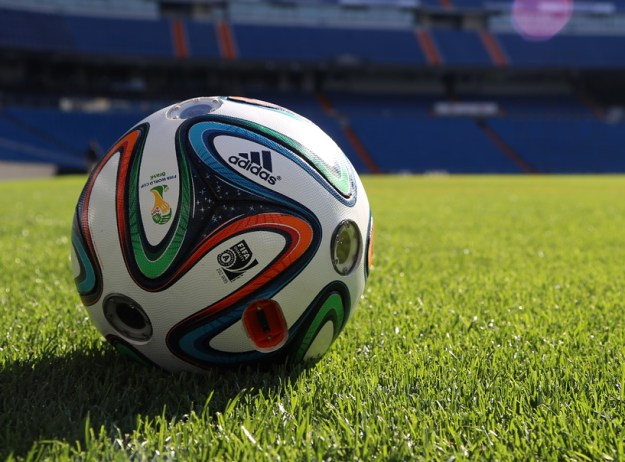 adidas brazucam ball captures 360º world cup action