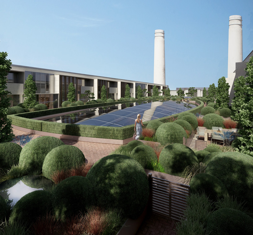 andy sturgeon plants garden of elements at battersea power station