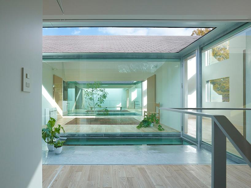 tomohiro hata architect overlaps atlas house  dental