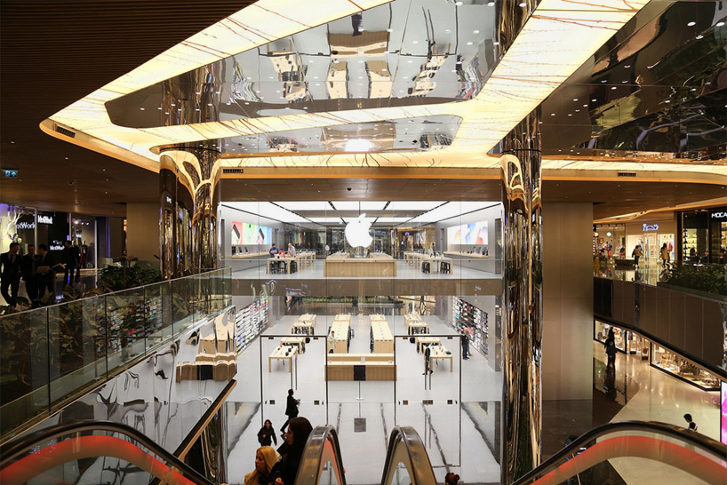 foster  partners completes istanbuls first apple store