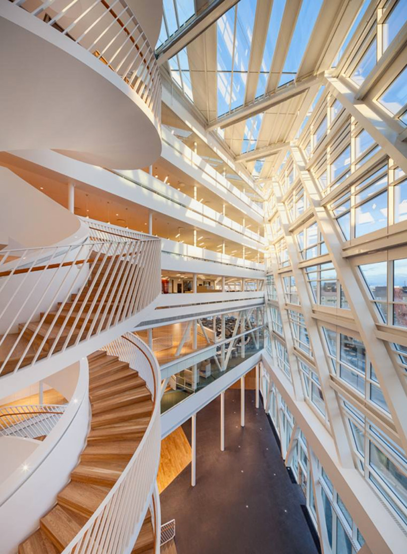 swedbank headquarters by 3XN utilizes tripleV floorplan