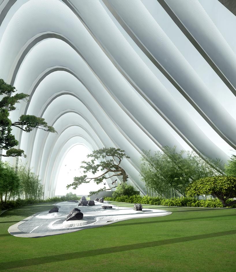 MAD architects presents nanjing zendai himalayas center at