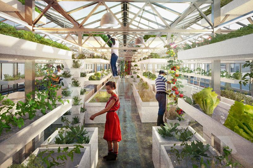 Antonio Scarponi Combines Urban Farming With Industrial