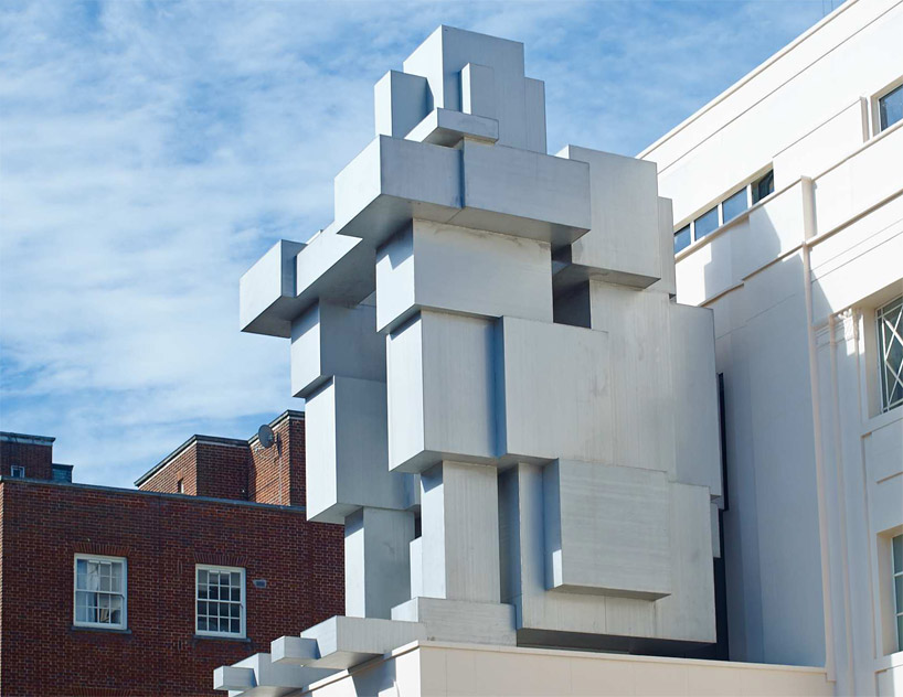 antony gormley stacks inhabitable sculpture suite at