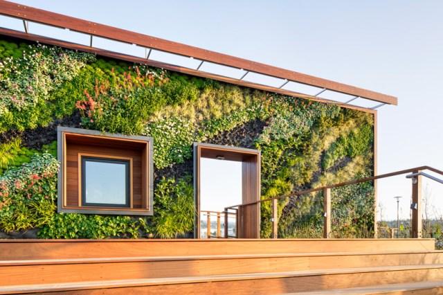 BCV arquitetos Bay Meadows centro de visitantes designboom