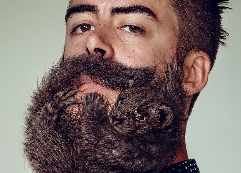 YampR Grow Animal Beards For Schicks Free Your Skin Campaign
