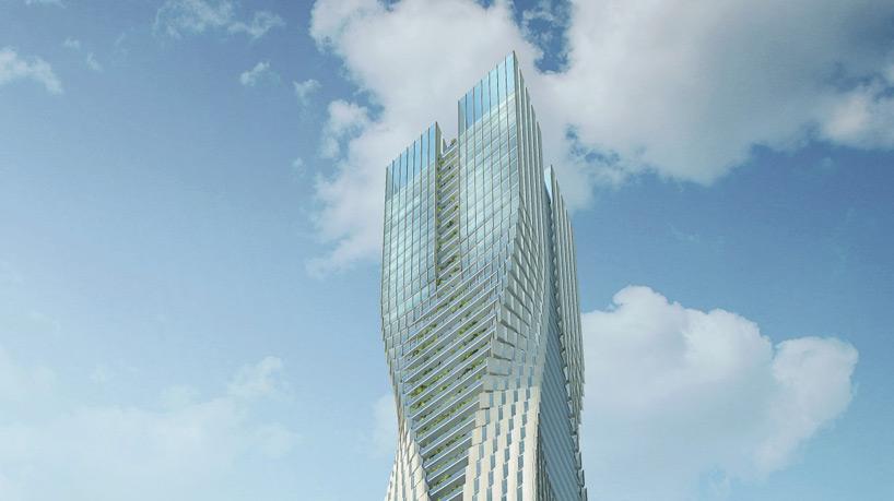 SOM to complete scandinavias tallest building in gothenburg